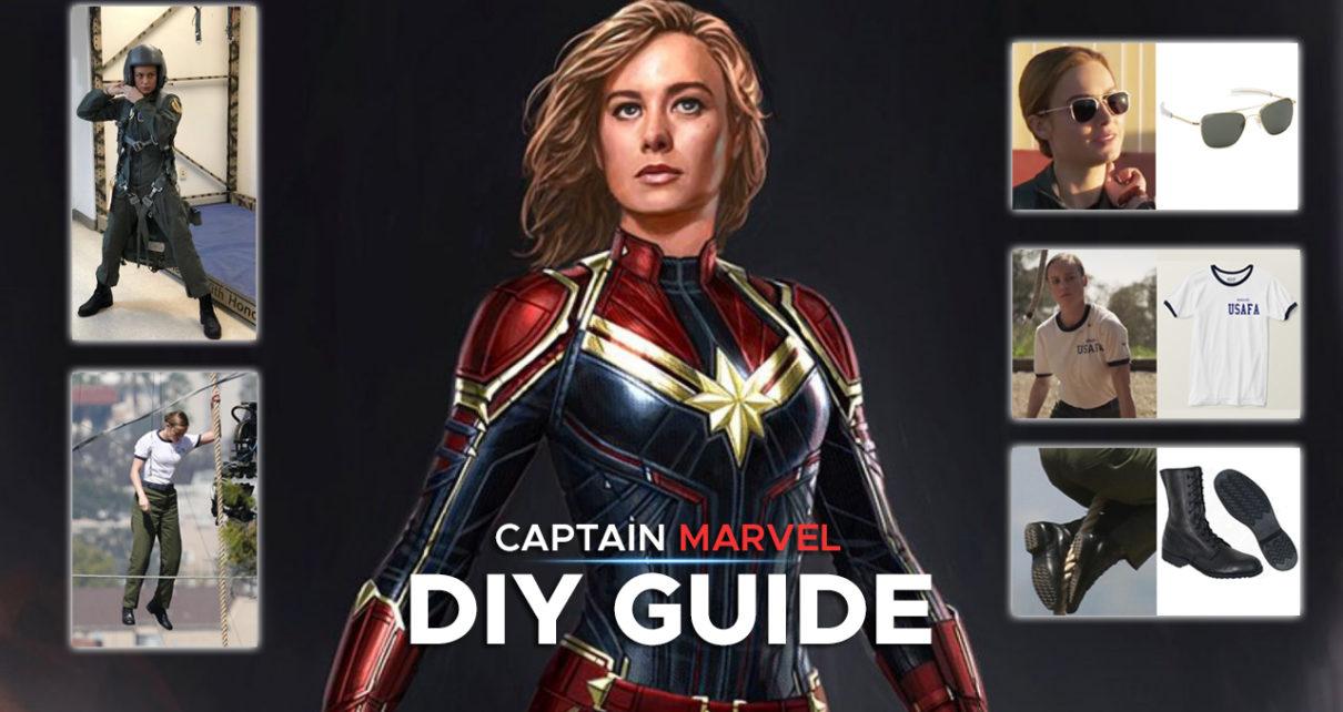 Ms Marvel Full Diy Guide What Costume Captain marvel (brie larson) is the superhero identity of carol danvers, a former u.s. ms marvel full diy guide what costume